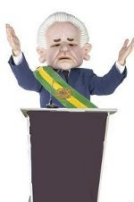 Charge Presidente Brasil